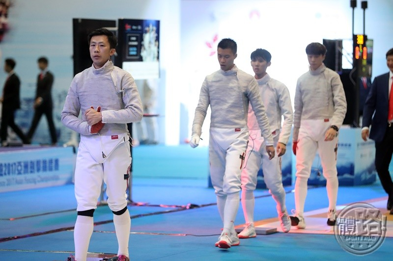 AFC2017_Fencing_MEN'S SABRE TEAM_R8_A86I7690