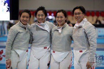 AFC2017_Fencing_WOMEN'S SABRE TEAM_R8_A86I5411
