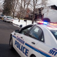 Colonie police investigate a fatal accident on Central Avenue