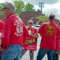We've got a disconnect: Union employees on strike from Verizon discuss concerns about future job security, making ends meet