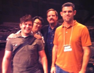 Brian, Steve, and I hanging out with Ed Stetzer!  (Click for more pics from the past few weeks)