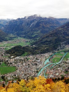 Interlaken from Harder Kulm