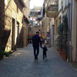 Street in Blera