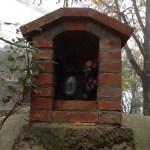 Close up of shrine
