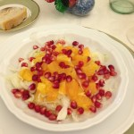 Fennel, orange, and pomegranate salad