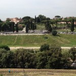 View of Circus Maximus from the Palantine Hill