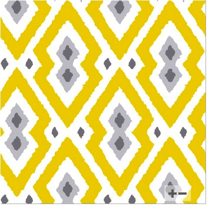 """yellow and grey """"Syrie"""" wallpaper"""