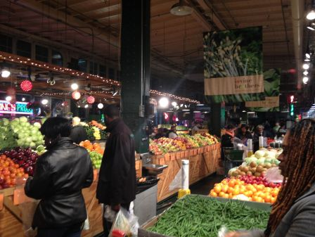 Produce at Reading Terminal