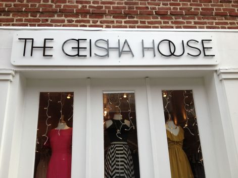 The Geisha House boutique