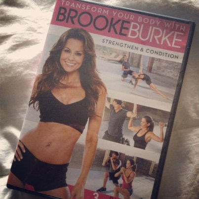 Chelsea Charles uses Brooke Burke video to drop the baby weight