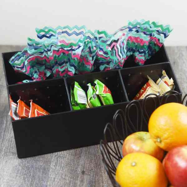 Healthy Snack Ideas for Kids & Easy Snack Station