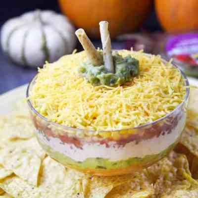 Fiesta Pumpkin Layer Dip