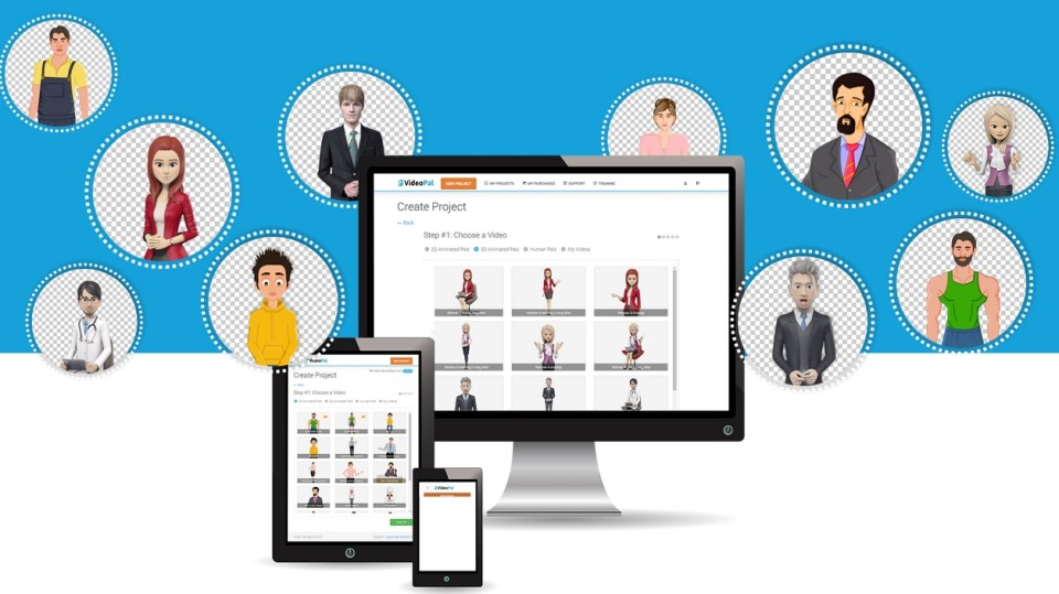 Create 2D, 3D Talking Avatar and Talking Human Video for your Website and Blog