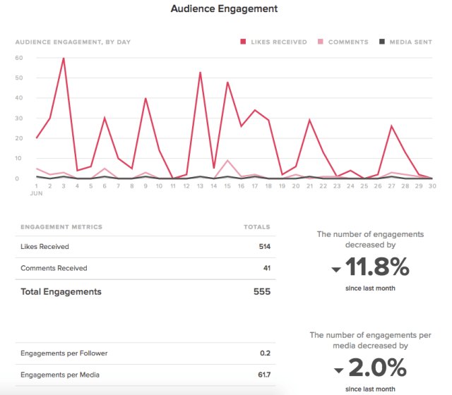 sprout audience engagement report