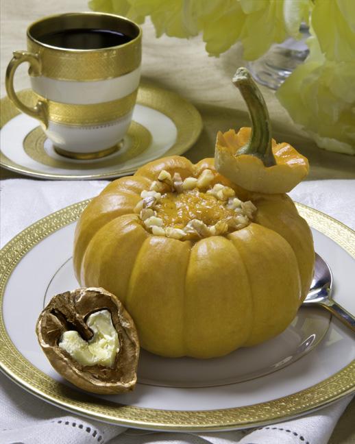 Baked Pumpkin Custard Recipe - Spry Living