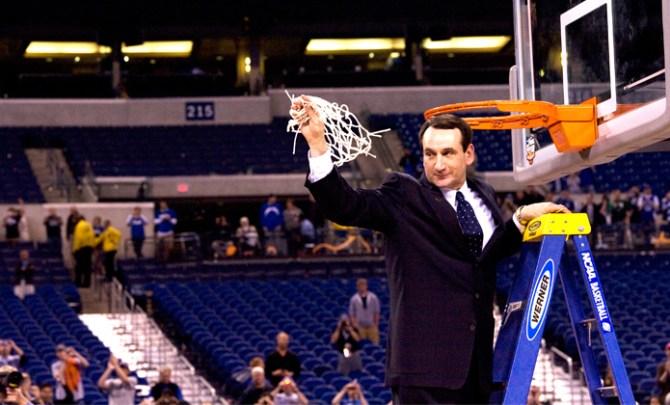 Duke's Coach K talks with Spryliving.com