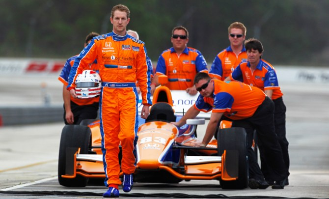 INDYCAR drive Charlie Kimball's battle with type 1 Diabetes.
