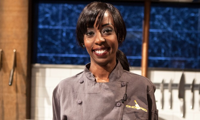 Elizabeth Mwanga was on the Food Network's Chopped.