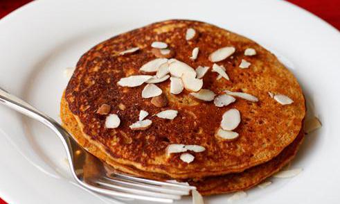 maple sweet potato pancakes
