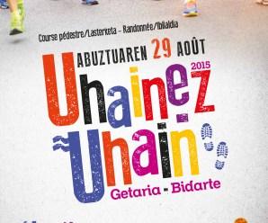 UHAINEZ UHAIN 2015 GETARIA-BIDARTE