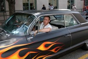 Hotrod driver, Winston-Salem