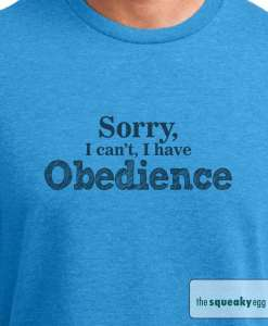 Obedience Shirts