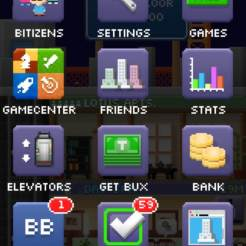 Tiny Tower Menu