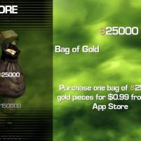 infinityblade bag of gold 1