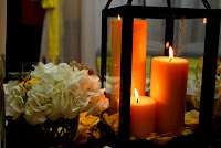 DIY Inexpensive Decorative Lantern from Picture Frames