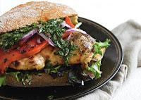 Chimichurri Grilled Chicken Sandwiches: Yummy Diet Recipe
