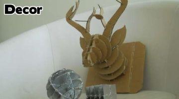 Craft a Cardboard Animal Head