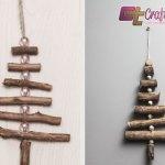 Christmas Twig Tree. Photo: Craftuts