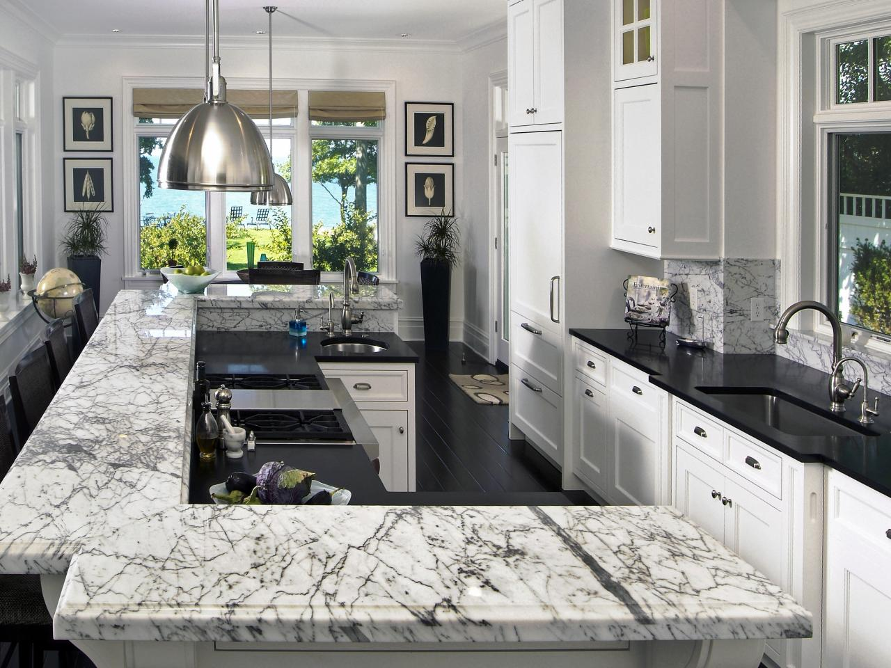 quartz granite or solid surface whats your perfect kitchen countertop surface countertops for kitchens Image credit Marble Granite