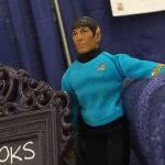 Spock at our table