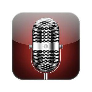 voice memo app icon