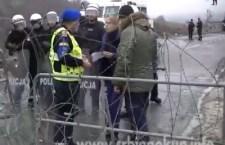Протест привредника и народа на Јарињу (видео)