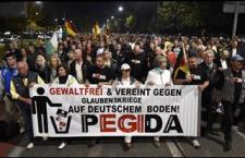 На протестима у Дрездену ПЕГИДА оптужује Меркелову
