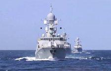 Русија гађа Исламску државу и са Каспијског језера (видео)