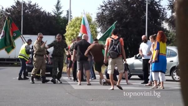 Бугари претукли украјинце и литванце на протесту против Русије! (видео)
