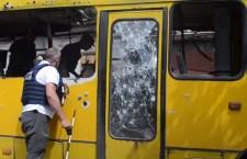 Украјина гранатирала Доњецк, директно погођен аутобус: (ВИДЕО)