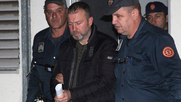 Montenegro, Podgorica, 17.10.2016. Arrest Dikic Bratislav photo E-Stock Petar Jovanovic