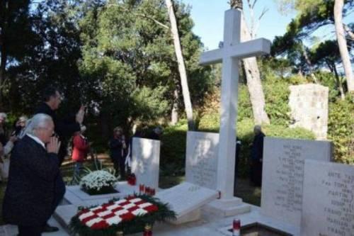 Srpski sveštenik na ustaškoj misi