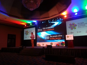 Rajan Anandan at Google Community Summit - Asia, 2014