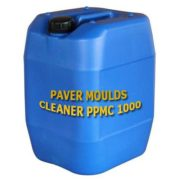 Paver Mould Cleaner PPMC 1000 and Plastic Tiles Moulds Cleaning Chemical, Cement Remover Chemicals India, remove Concrete from paver moulds india.
