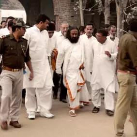 Sri Sri meets riot victims' families in Muzaffarnagar