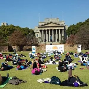 50 million across 132 countries have a day out with Art of Living yoga