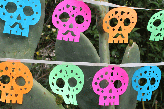 Day of the Dead Paper Arts: Saturday, October 22nd @ 1pm