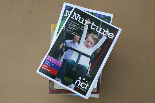 National Childbirth Trust Baby Magazine