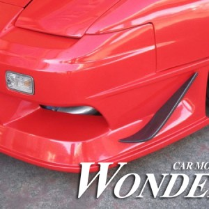 Wonder GLARE FRONT BUMPER OPTION TYPE 1C