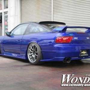 WONDER 180SX GLARE AERO REAR BUMPER